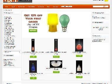 osCommerce - Lightmodern