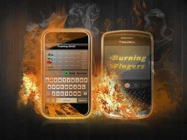 Burning Fingers for iOS, Android and BlackBerry