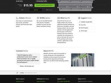 VPS Web Hosting Website Development & Maintenance