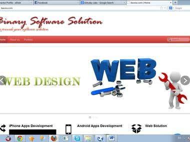 IT firm website
