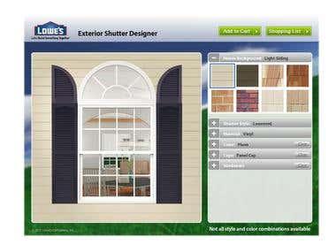 Exterior Shutters Designer