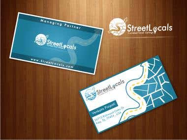 Business cards designs by UD