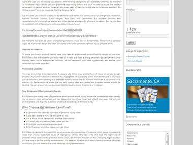 Wordpress: Edslawfirm