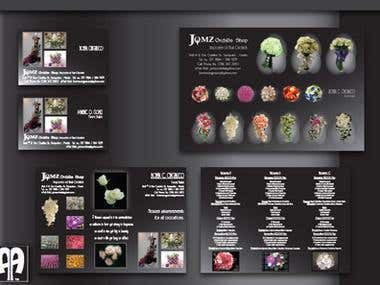 Brochure, Name Card