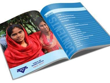 Annual Report Inner pages design