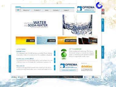 OU web site - http://oprema-uredjaji.com