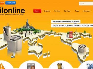 Online Mail Forwarding company website