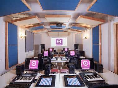 Music Production & Audio engineering school