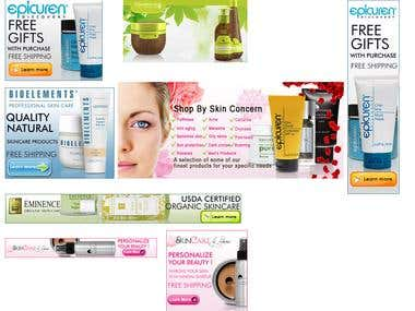 Affiliate banner for beauty