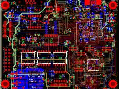 Microprocessor board design