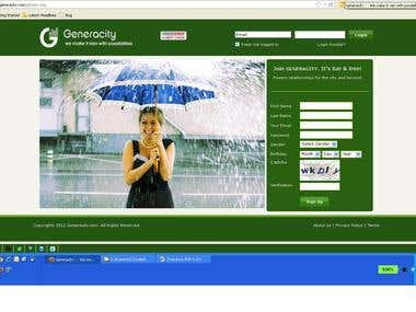 Generacity - https://www.generacity.com/g/index.php
