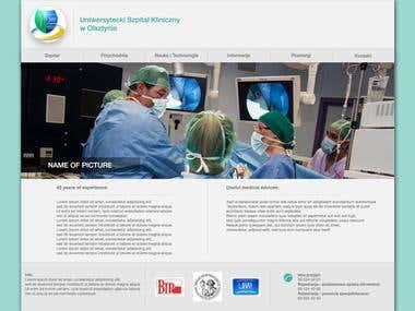 Hospital- website