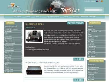 TecSArt - website