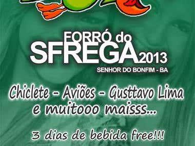Banner Forró Sfrega 2013