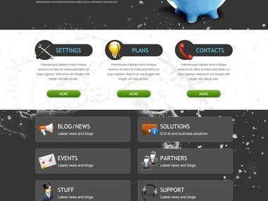 Website & Graphics design