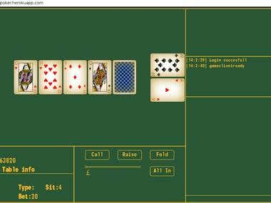 Simple Texas holdem