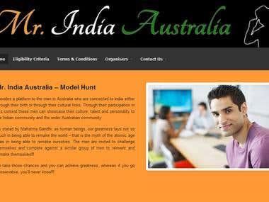 Mr. India Australia