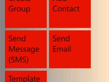 Group SMS EMAIL & TEMPLATE