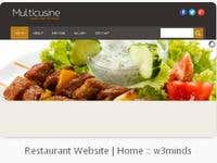 Responsive Design Restuarant Website