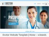 Doctor/Medical web design