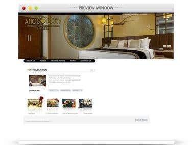 web site for amoscozy hotel