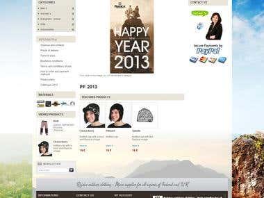 E-shop - Rejoice.ie - Prestashop
