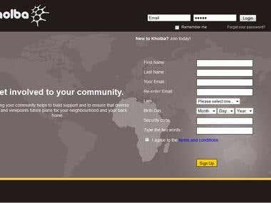 Web page desing and progrmming