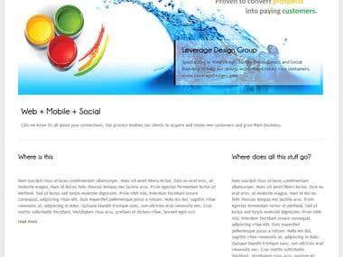 Wordpress theme create and edit