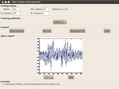 Digital Signal Processing: EMG signals
