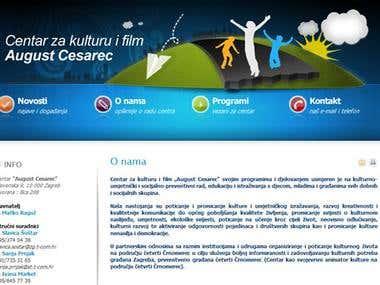 "CENTAR ""AUGUST CESAREC"""
