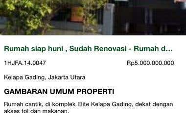 PropertyKita iOS Apps
