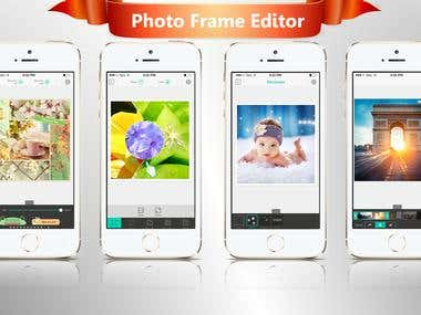 Photo Frame Editor - Pic Collage Maker to Stitch Pictures wi