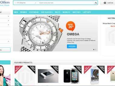 Platinum Offers - eCommerce Website