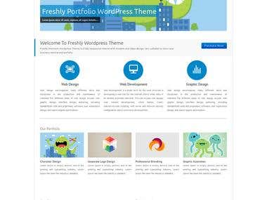 Freshly Wordpress Theme