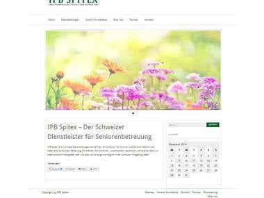 Webseite für ein Spitex