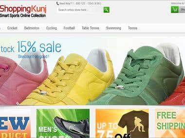 Shopping Kunj - eCommerce Website