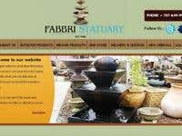 Fabbri Statuary Product Catelogue Website