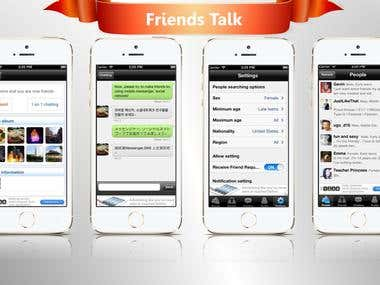Friends Talk - Chat, Meet, Dating