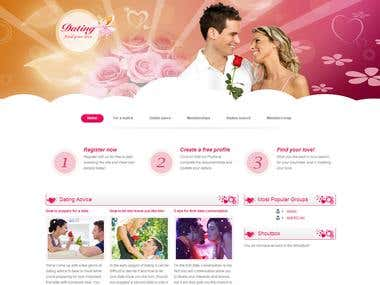 Dating Joomla Site Project