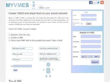 Login-sign up websites