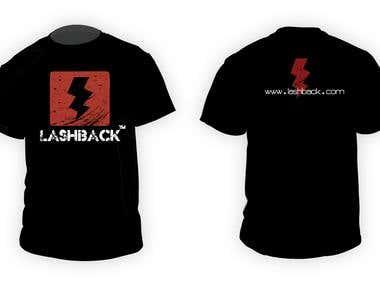 T-Shirt design for Lashback
