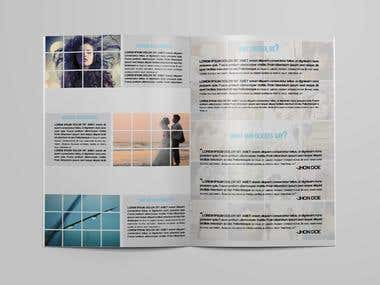 Photography Brochure Tempalte