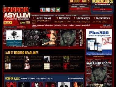 Horror Asylum [horror-asylum.com]