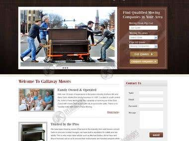 Movers Website