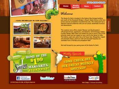 Santafe Website