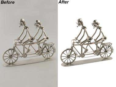 CLIPPING PATH OF PRODUCTS
