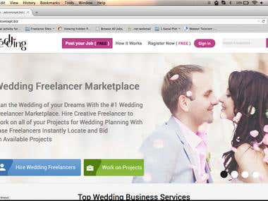 Be 4 The Wedding Web Application