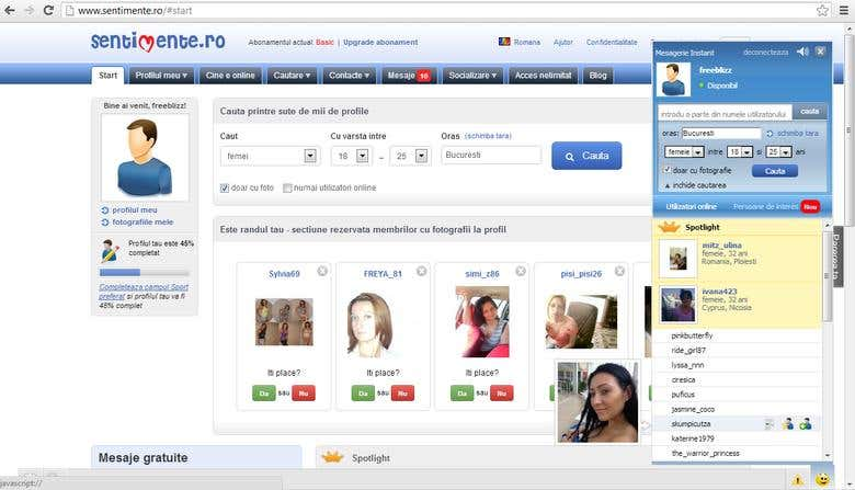 Sentimente dating site