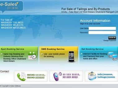 eSales ERP Application