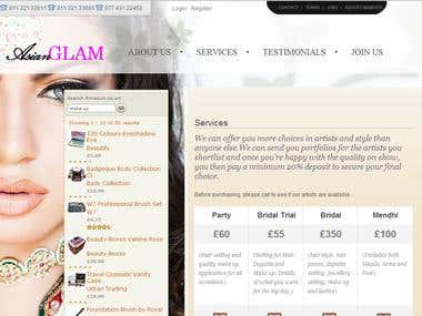 asian glam website